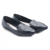 Dr. Kevin Women Flats Shoes PU Leather 43202 Black