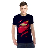 Kaos 3D Jersey Manchester United Home navy,orange,pink