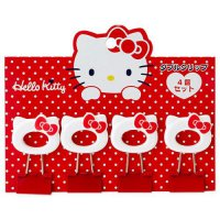 Import Japan Sanrio Hello Kitty Paper clip 4 pcs / penjepit kertas