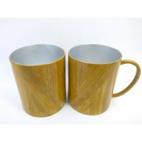Mug Gelas Bambu Dalam Stainless Hand Made Limited Collection