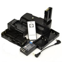 [globalbuy] D5000 Battery Grip + IR Remote Control + EN-EL9 Battery + EN-EL9 Charger for N/3669842