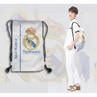 TAS RANSEL SERUT REAL MADRID FC LIGA SPANYOL TOTE GOODIE BAG JERSEY UK SJ0019