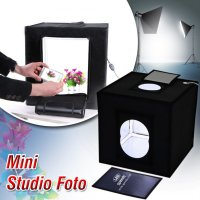 Mini Photo Studio Light Box Midio + Plus Background 3D termurah barang impor