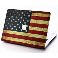 Mine Mac Pattern USA FLAG Case for Macbook Air 13 inch