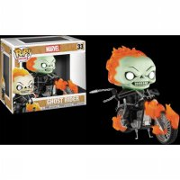 Funko Pop Ride - Marvel - Ghost Rider with Motorcycle (Glow)