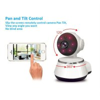 SMART WIRELESS CCTV HD IP Camera 2- WAY AUDIO/NIGHT VISION/PAN AND TILT
