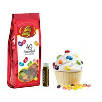 [macyskorea] Jelly Belly Ceramic Cupcake Candy Dish & Jelly Belly 49 Assorted Flavors Jell/10798385