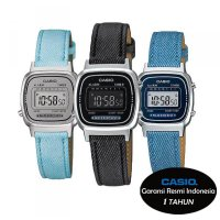 Casio Original LA-670WL Ladies (Denim Series) jam tangan promonline