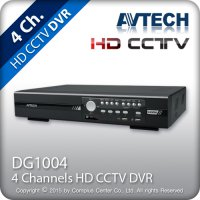 DVR Avtech DG1004 AHD or Analog camera cctv ( 4 channel )