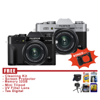 Fujifilm X-T20 Kit 15-45mm - FREE ACCESSORIES