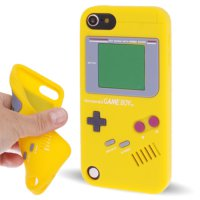 Ss4808 - Gameboy Silicone Case Ipod Touch 5 / 6 Yellow