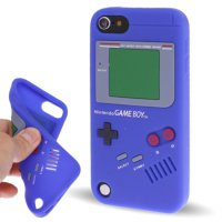 Ss4806 - Gameboy Silicone Case Ipod Touch 5 / 6 Blue