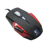 Mouse Gaming MicroPack G2 Terminator + Mouse Pad Red