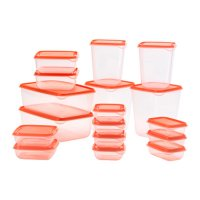 IKEA Pruta Food Container Orange
