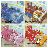 Sprei Lady Rose Single 120 Motif Kartun