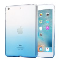 Ss5205 - Haweel Gradient Slim Tpu Case Ipad Mini 1 / 2 / 3 Blue