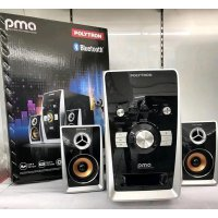 POLYTRON PMA9501 Speaker Aktif Multimedia PMA-9501 USB Bluetooth Remote FM Radio