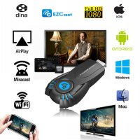 Latest V5 II EZCast Dongle EZ Cast EZ Mirroring For Android Ios Mac Windows Phone/Tablet/Pc Miracast Wifi Display Tv Dongle