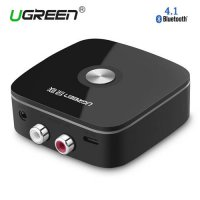 [globalbuy] Ugreen Wireless Car 4.1 Bluetooth Receiver Adapter 3.5mm to 2RCA AUX Audio Mus/4428708