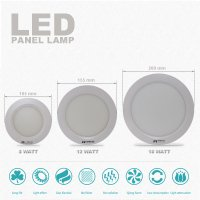 EELIC DOL-L8W105 Led Downlight Lampu 8w