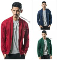 Bomber Jacket Cotton Fleece - Jaket Sweater Pria Wanita Murah