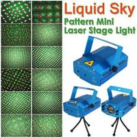 Liquid Sky - Pattern Mini Laser Stage Lighting Sensor Music