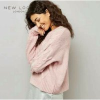 R.E.A.D.Y New Look Sweater Outware Rajut Kniting Peach(Promo)