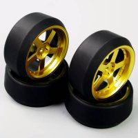 [globalbuy] HSP HPI 1:10 RC On-Road Racing Car Drift Tyre Tires &Wheel Rim Model Toys Acce/4448117