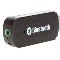 [globalbuy] 3.5mm USB Wireless Bluetooth Music Audio Car Handsfree Receiver Adapter LH9s/4428651