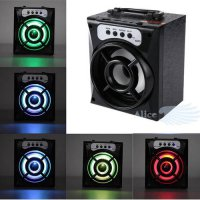 [globalbuy] Super Horn Portable Bluetooth Wireless Speaker Bass Powerful Subwoofer Outdoor/4428635