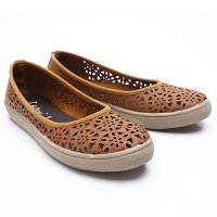 Dr.Kevin Women Slip On Shoes Leather 43158 Tan