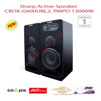 SHARP CBOX-G600UBL 2 Speaker Active - Hitam