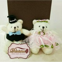Boneka Couple Teddy Bear 10 Cm