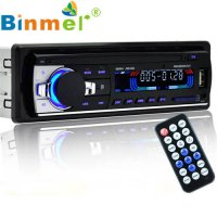 [globalbuy] Bluetooth Car Stereo Audio CD In-Dash FM Aux Input Receiver SD USB MP3 Radio R/4428120