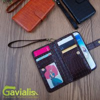 Gavialis Premium Wallet Diary Case iPhone 6/6 Plus LG G3 Galaxy Note 4 Note 3 Note 2 Galaxy S5 S4 S3