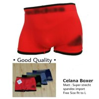 TENABANG OFFICIAL| Paket 4 pcs/Celana Pendek boxer/Underwear/celana pendek MR | Fit to L |VAL00102R