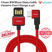 Vivan BWM100 Data Cable Gamers Fast Charge 2.4A
