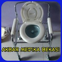 Commode Chair Dengan Roda (Kursi BAB) SELLA KY696