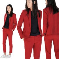 [ZRB02] BLAZER WANITA - BRANDED BLAZER - RED BLAZER - BLAZER KERJA - HIGH QUALITY - BEST SELLER