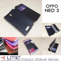 Ume Classic View Leather Case Oppo Neo 3 R831K