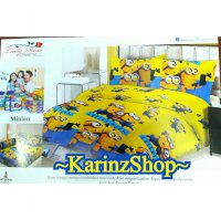 Sprei Lady Rose 180x200 Minion