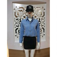 Baju fashion wanita jeans mini dress keren import