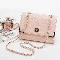 N3W LOOK! ORIGINAL - Tas Branded Wanita Pink Leslie (2 fungsi: Shoulder & Sling Bag)
