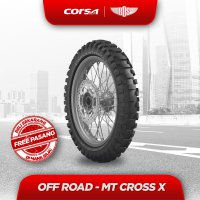 Ban Motor Corsa MT Cross-X (REAR) 100/100 - 18 TUBE TYPE GRATIS JASA PASANG
