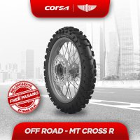 Ban Motor Corsa MT Cross-R REAR 110/100 - 18 TUBE TYPE GRATIS JASA PASANG