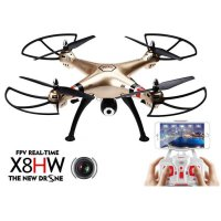 Drone Quadcopter Syma X8HW Wifi FPV Camera Altitude hold Jakartahobby