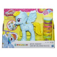 Play Doh My Little Pony Rainbow Dash Style Salon Playset