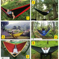 Hammock Single 270x150 - Swingpack Hammock