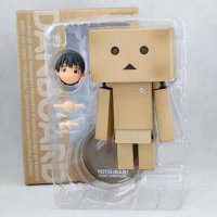 [globalbuy] Cute Lovely Danboard Danbo Doll PVC Action Figure Toy with LED light 13cm/4561751