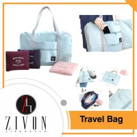 Tas Belanja Travel Besar Lipat Anti Air Fold Bag Waterproof Hand Carry